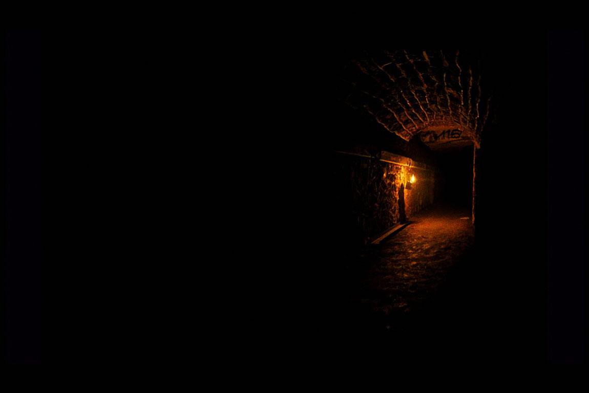 La pénombre des Catacombes