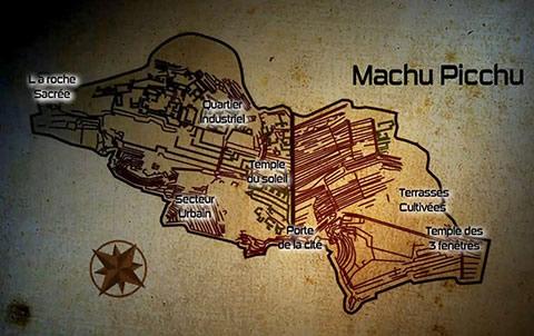 Plan Machu Pichu
