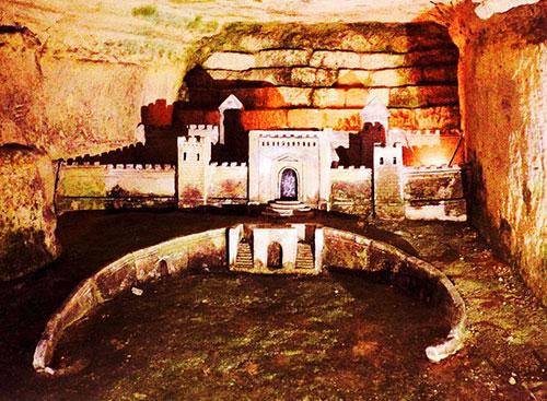 Port Mahon dans les Catacombes de Paris