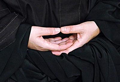 Position des mains