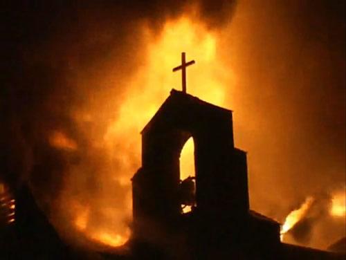 Incendie du presbytère