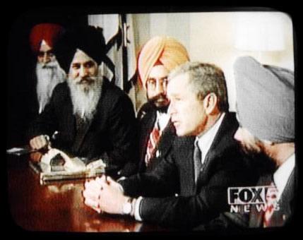 Annonce des conclusions par le Président Bush