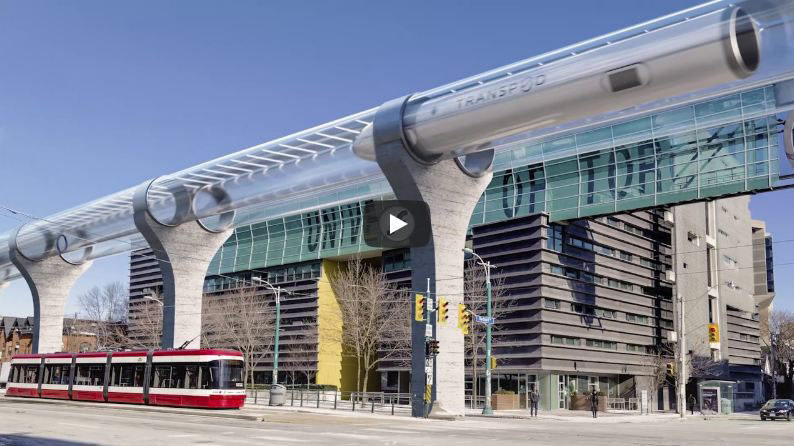 Projet Hyperloop de Limoges