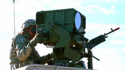 Arme laser de l'armée