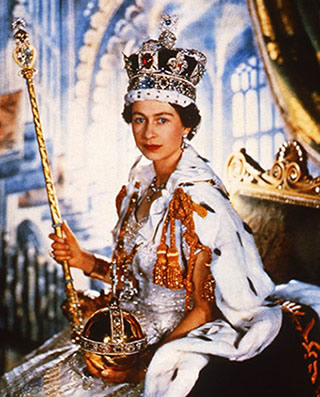 Reine Elizzabeth II d'Angleterre