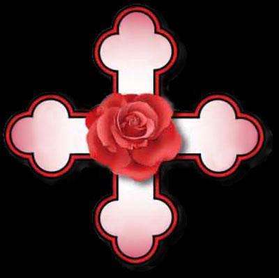 Emblème de la Rose Croix
