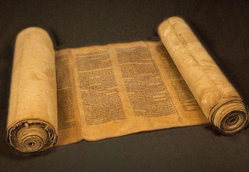 Les rouleaux de la Bible