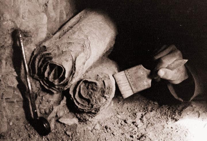 Rouleau de cuivre de Qumran