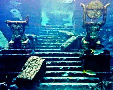 Ruines de Dwarka