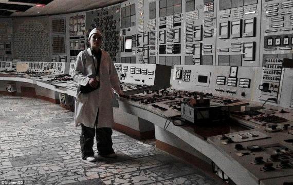 Salle de contrôle de Tchernobyl
