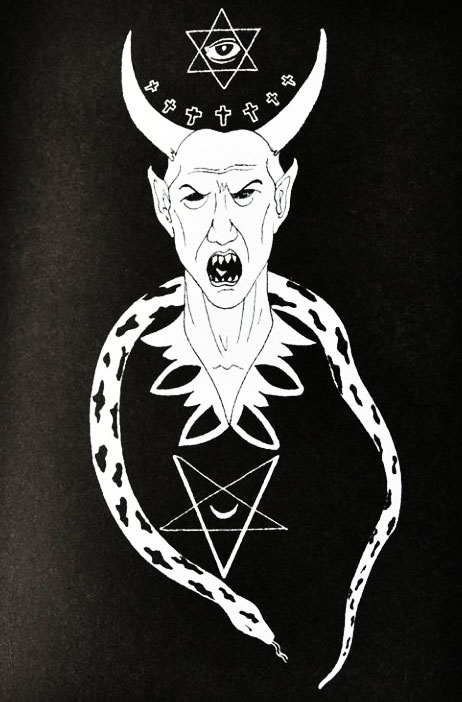 Représentation de Satan