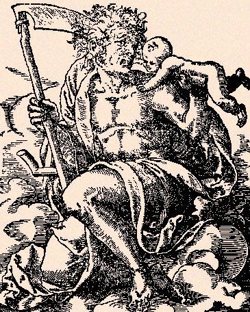 Saturne sur le point de dévorer un de ses enfants