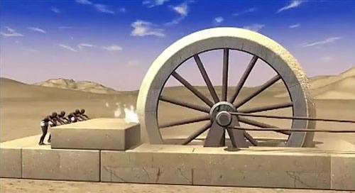 Scie circulaire des Anciens Egyptiens