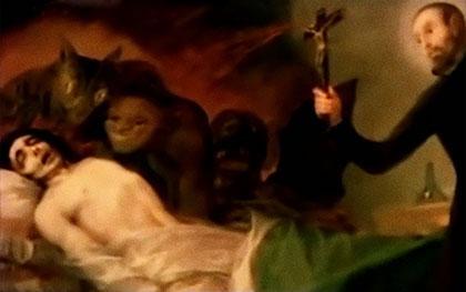 Séance d'exorcisme