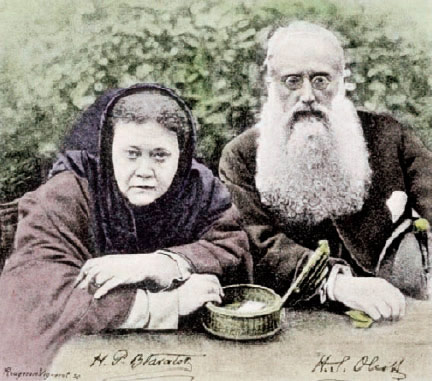 Mme Blavatsky et le Colonel Olcott