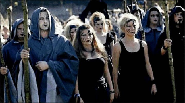 Rassemblement de sorcières