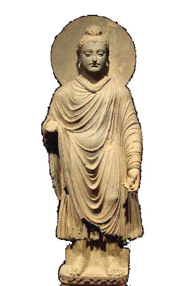 Statue bouddhique
