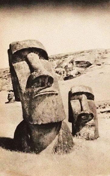 Les géants de l'Île de Pâques