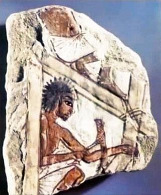 Tailleur de pierre de l'Antiquité