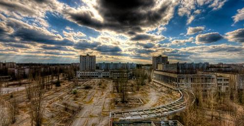 Centrale de Tchernobyl en 2009