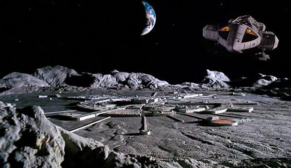Technologie alien sur la lune