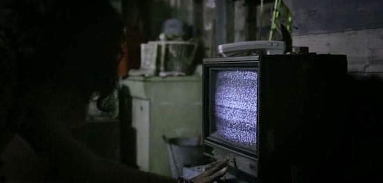 Télévision allumée