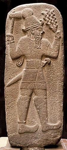 Teshub, le dieu du tonnerre