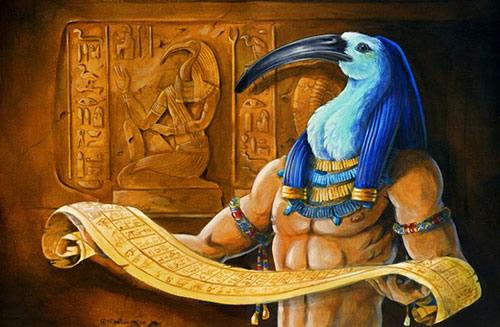 Image de Les scribes en Égypte