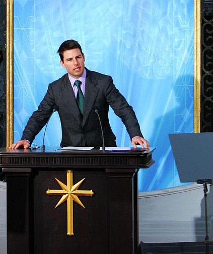 Tom Cruise et la scientologie