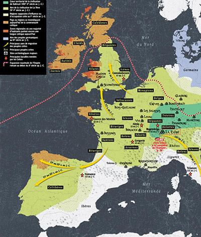 Les tribus celtes
