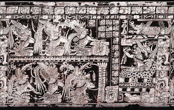 Vase des sept dieux mayas