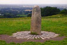 La Lia Fáil, la pierre de couronnement des anciens rois d'Irlande