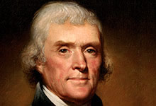 Le signalement d'OVNI de Thomas Jefferson