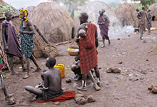 Le chamanisme chez les Bushmen