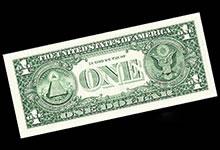 La véritable signification de la symbolique sur le billet de 1 dollar