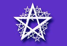 Le pentagramme de magie blanche