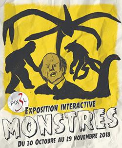 Exposition interactive sur les monstres