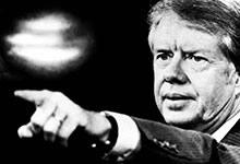 Jimmy Carter, le président des OVNIs