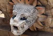 Tikal et le dieu Kukulkan
