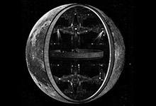 La Lune creuse
