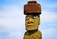 Les moais de l'île de Pâques