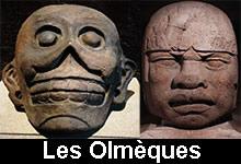 Les sculptures olmèques