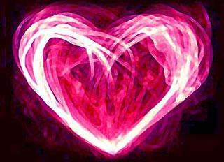 Magie rose d'amour