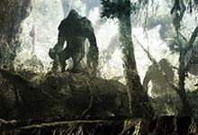 Le monde souterrain abrite les créatures Sasquatch