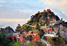 La montagne Wudang